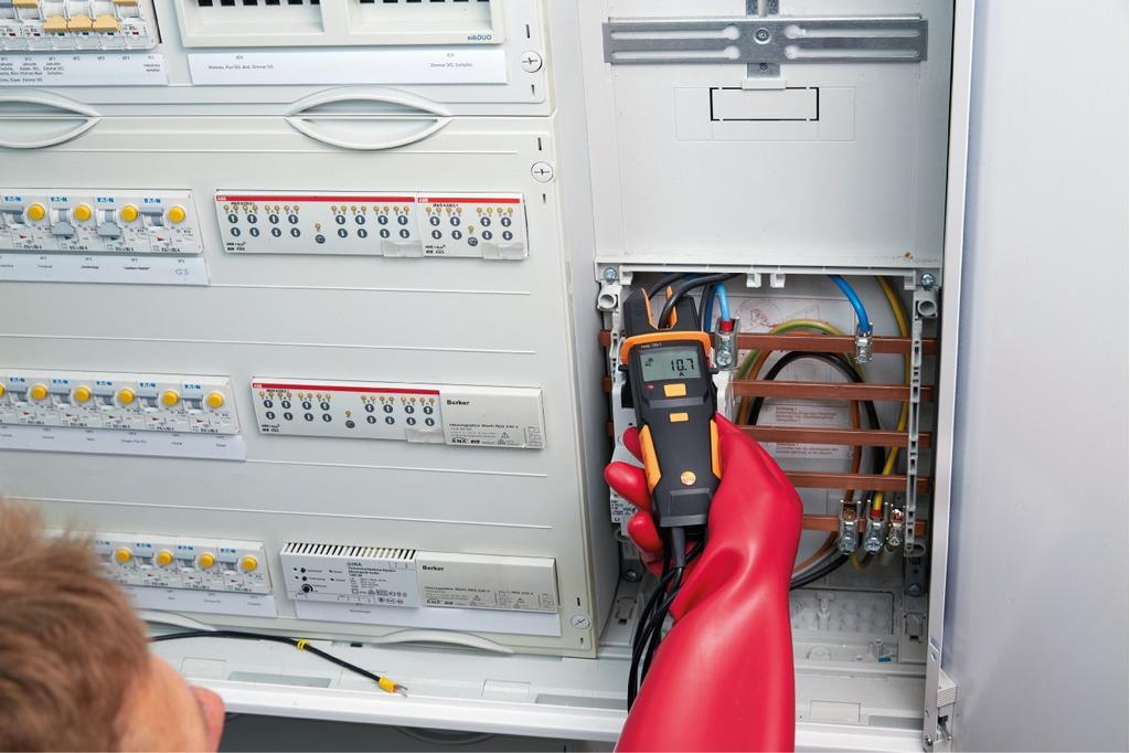 Testo 755 1 spannungsprüfer recom electronic ag